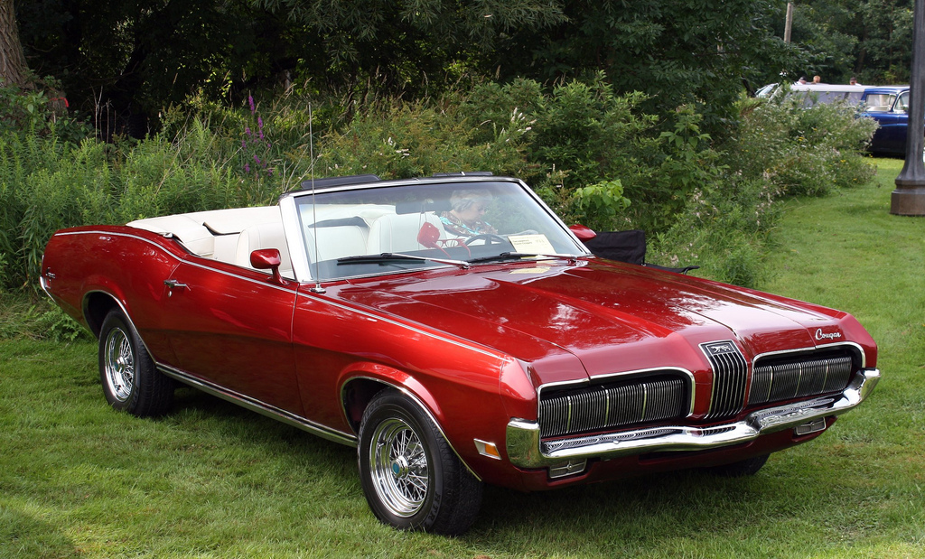 Kvicksilverpuman Facts About The Mercury Cougar 1970