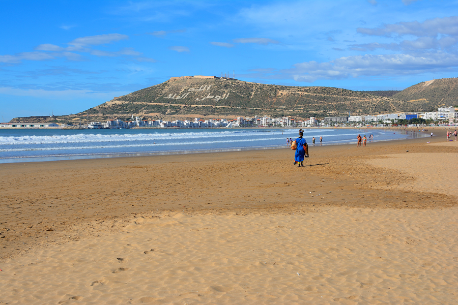 Agadir wzgórze