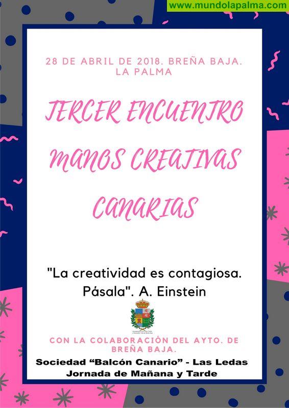 """BREÑA BAJA: tercer encuentro de """"Manos Creativas Canarias"""""""