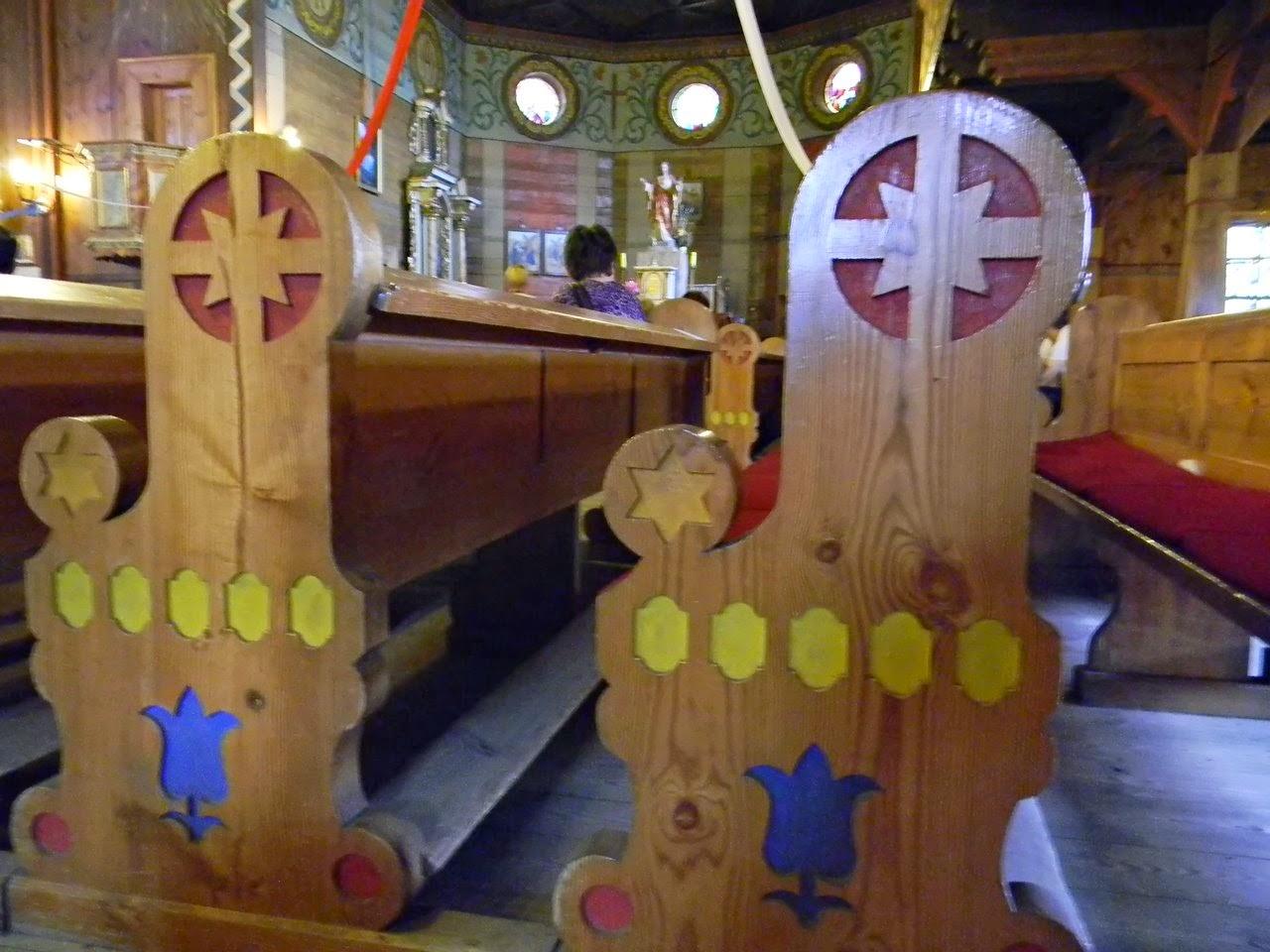 zdobienie, dekoracje, kościół w Bukowcu