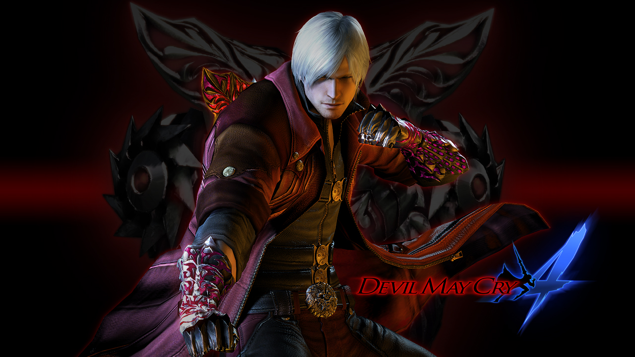Manga And Anime Wallpapers Devil May Cry 4 Hd Wallpaper
