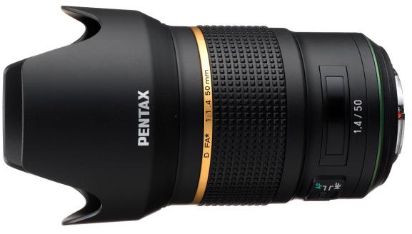 Pentax D FA* 50mm f/1.4, внешний вид может быть изменен