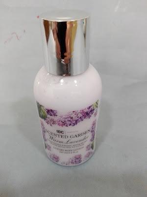 Imagen Crema corporal de lavanda IDC Cosmetics Scented Garden