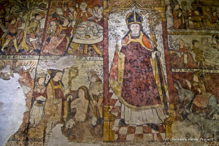 Frescos de Sta. Eulalia de Unha - Valle de Aran por El Guisante Verde Project