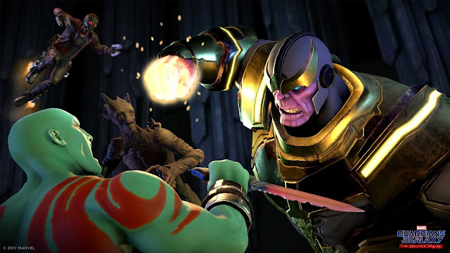 guardians of the galaxy vs thanos
