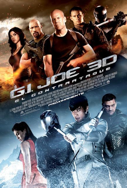 """Nuevo póster oficial de la película """"G.I. JOE: El Contratataque"""""""