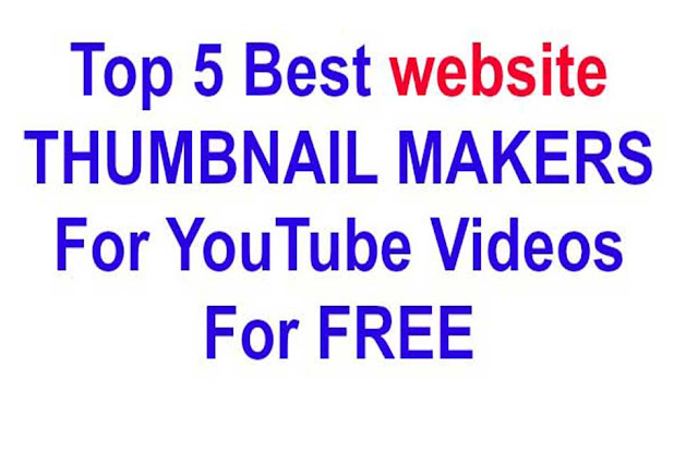 Youtube Thumbnail Maker Free Website