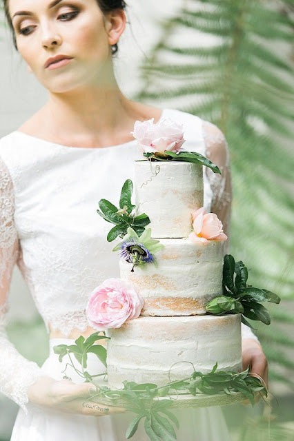 Wedding Cake : Cool Chic Style Fashion
