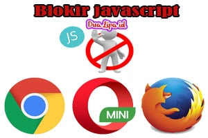 Blokir javascript