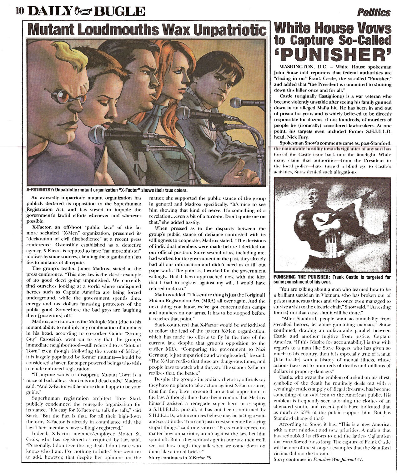 Read online Daily Bugle (2006) comic -  Issue #0 - 10