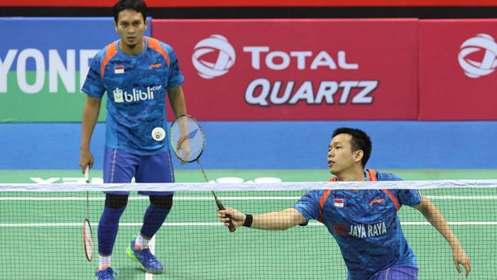 Mohammad Ahsan Hendra Setiawan Singapore Open 2018