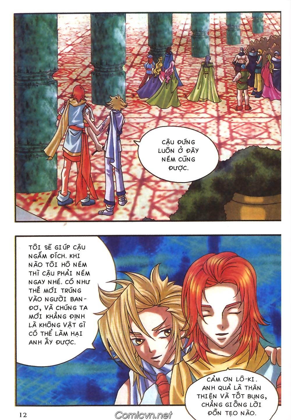 Thần thoại Bắc Âu - Chapter 44: Cái chết của Thần Quang Minh - Pic 13