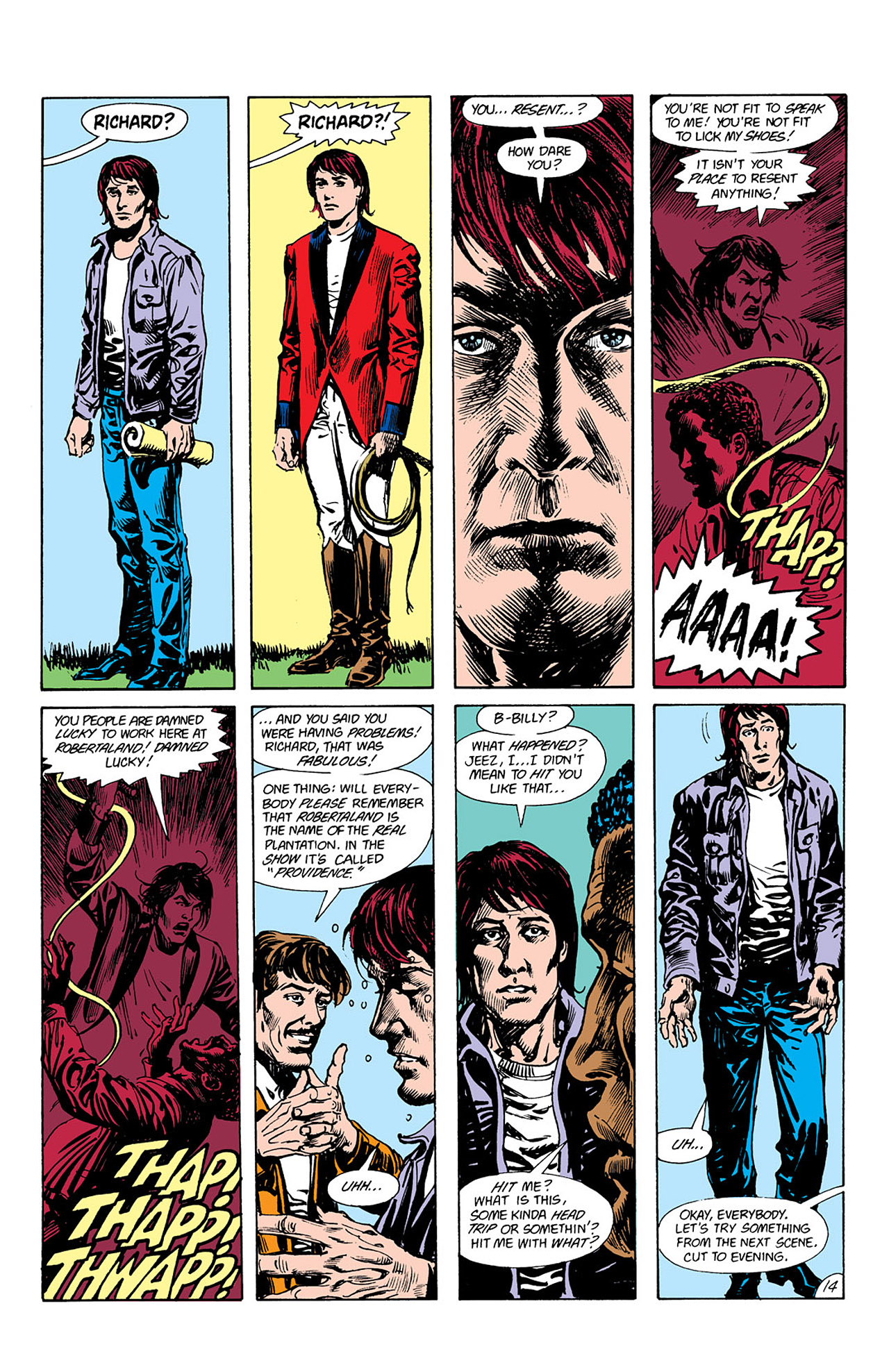 Swamp Thing (1982) Issue #41 #49 - English 14