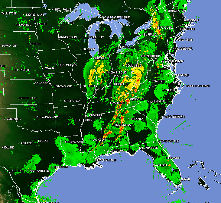The Original Weather Blog: Severe Weather Update