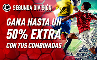 sportium Segunda División: Extra en Combinadas 14 octubre