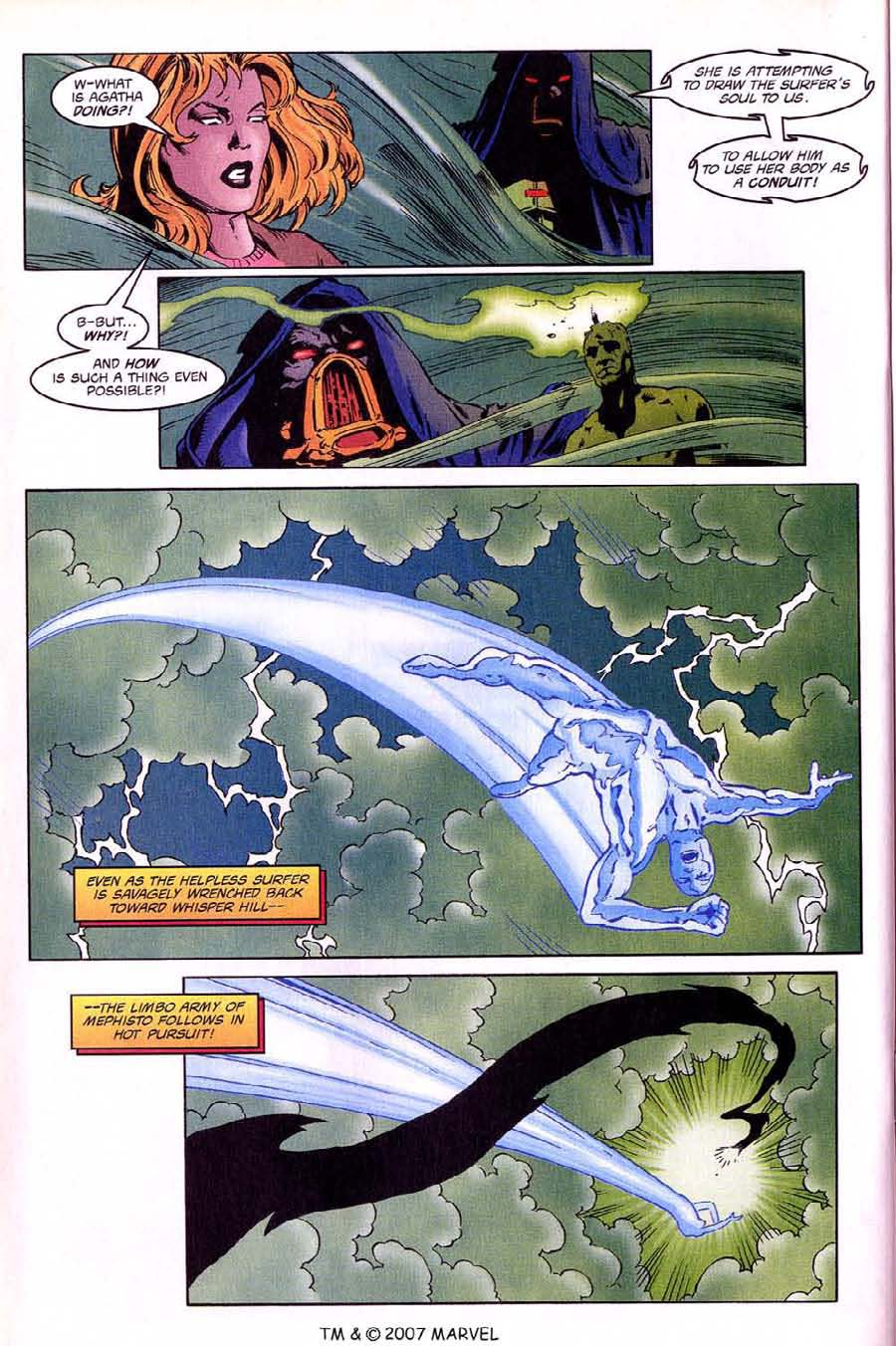 Read online Silver Surfer (1987) comic -  Issue #136 - 32