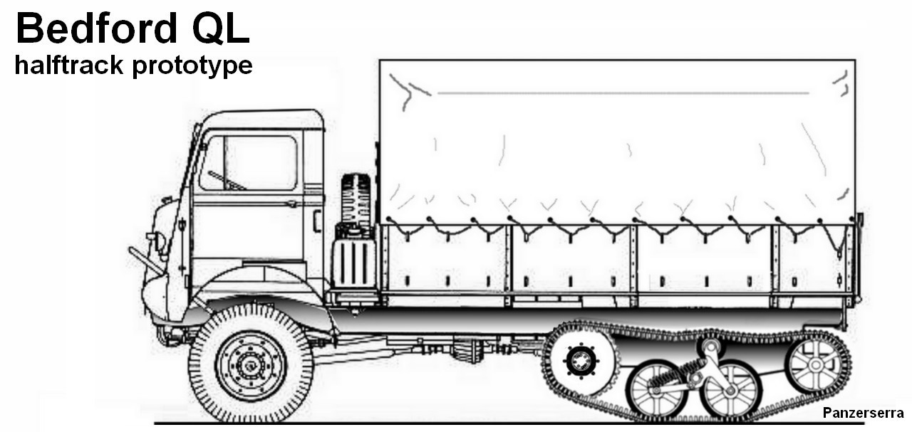 M  Halftrack Bed Length