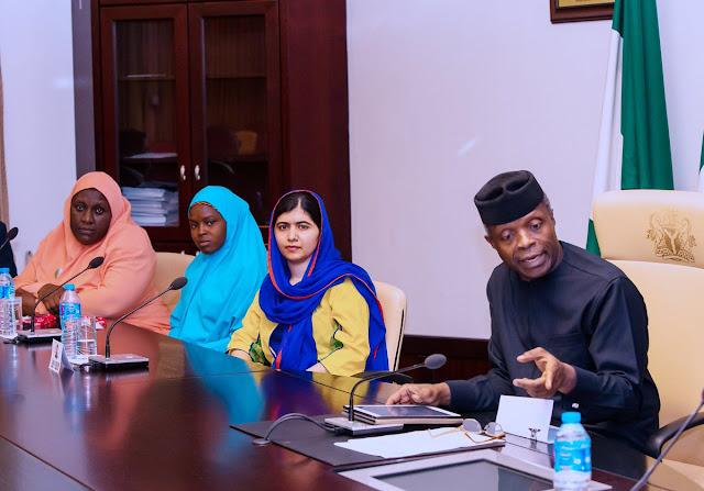 Malala-Yousafzai-visits-Osinbajo-1