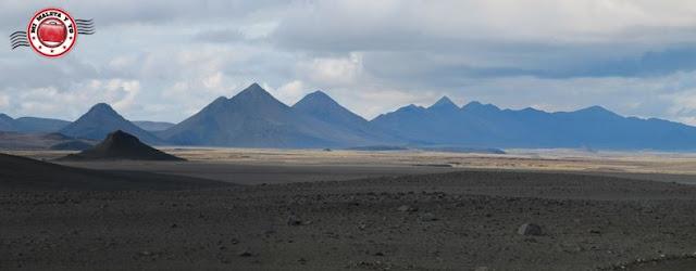 Interior de Islandia, regreso de Askja