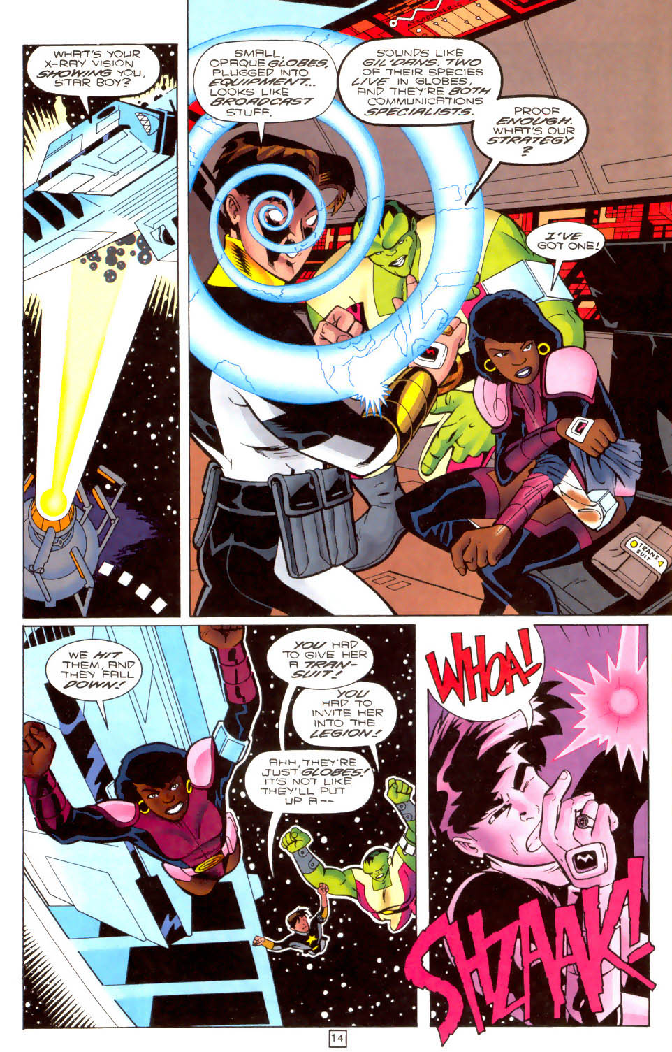 Legion of Super-Heroes (1989) 103 Page 13