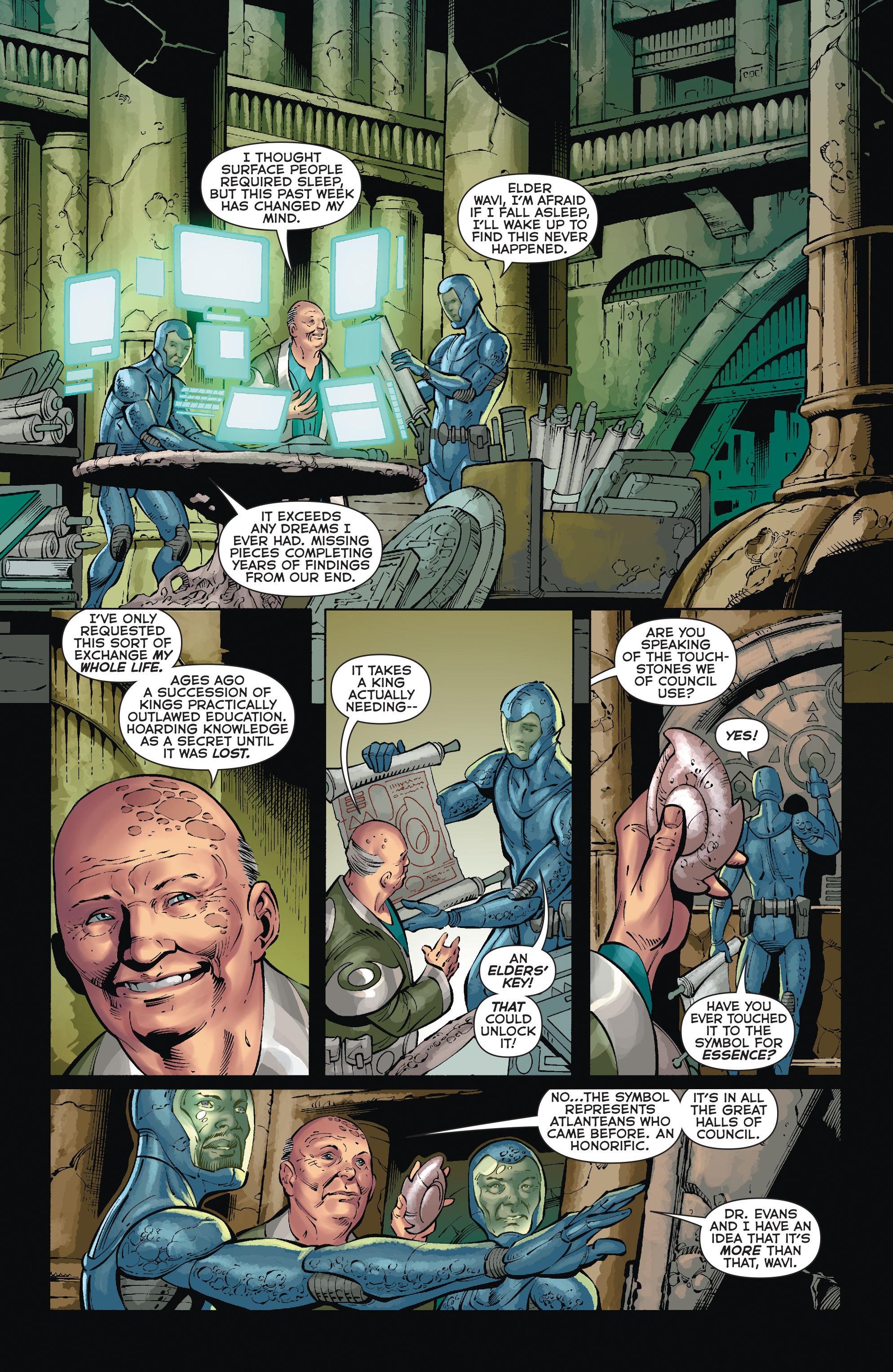 Read online Aquaman (2011) comic -  Issue #35 - 15