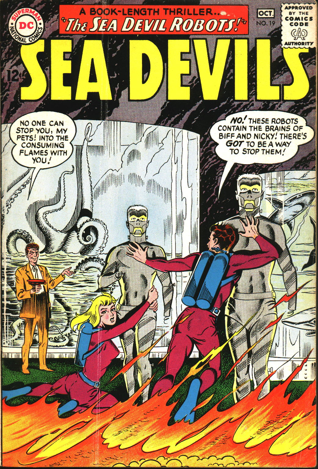 Read online Sea Devils comic -  Issue #19 - 1