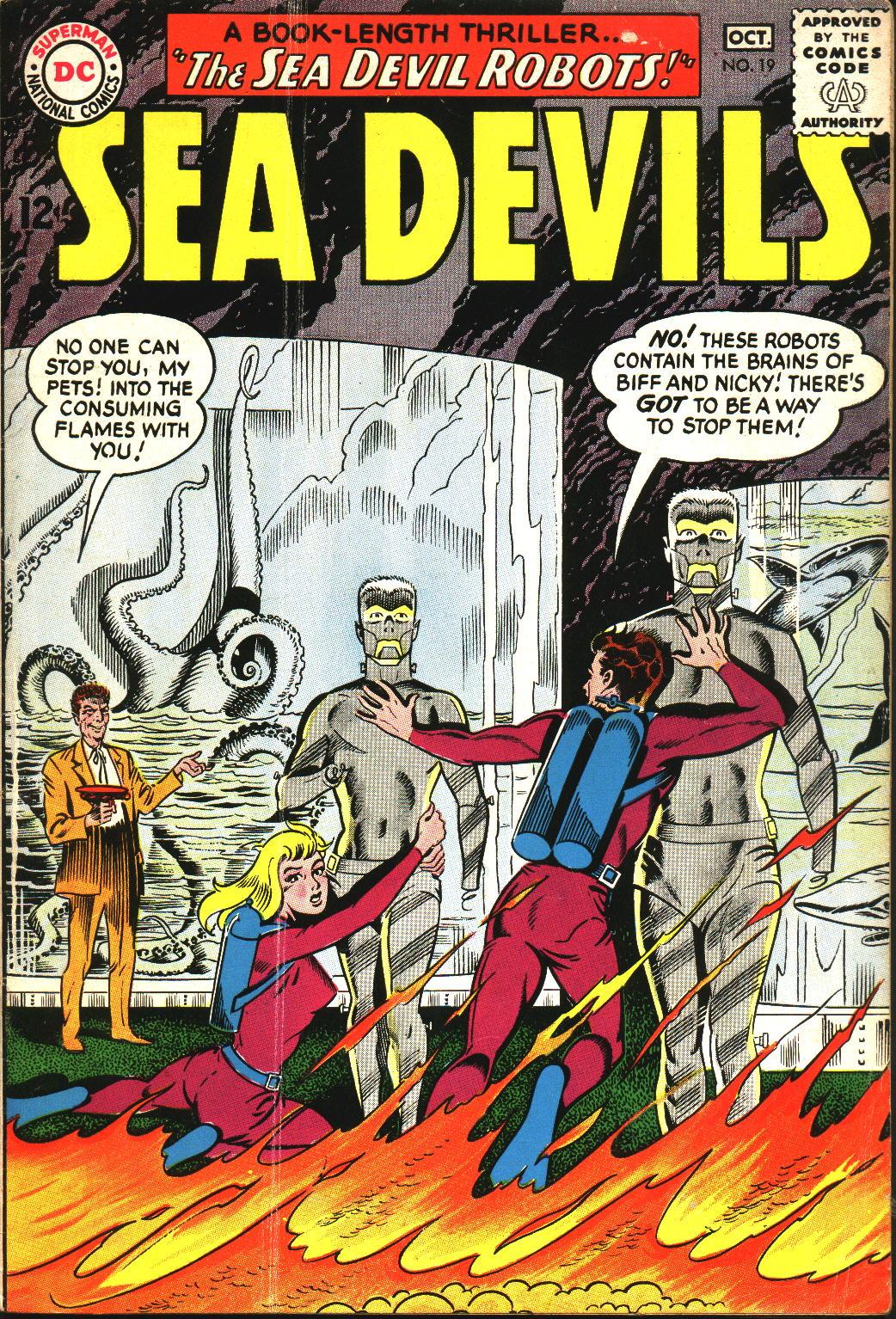 Sea Devils 19 Page 1