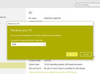 Cara Mengganti Nama Komputer di Windows 10