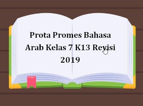 Prota Promes Bahasa Arab Kelas 7 K13 Revisi 2019