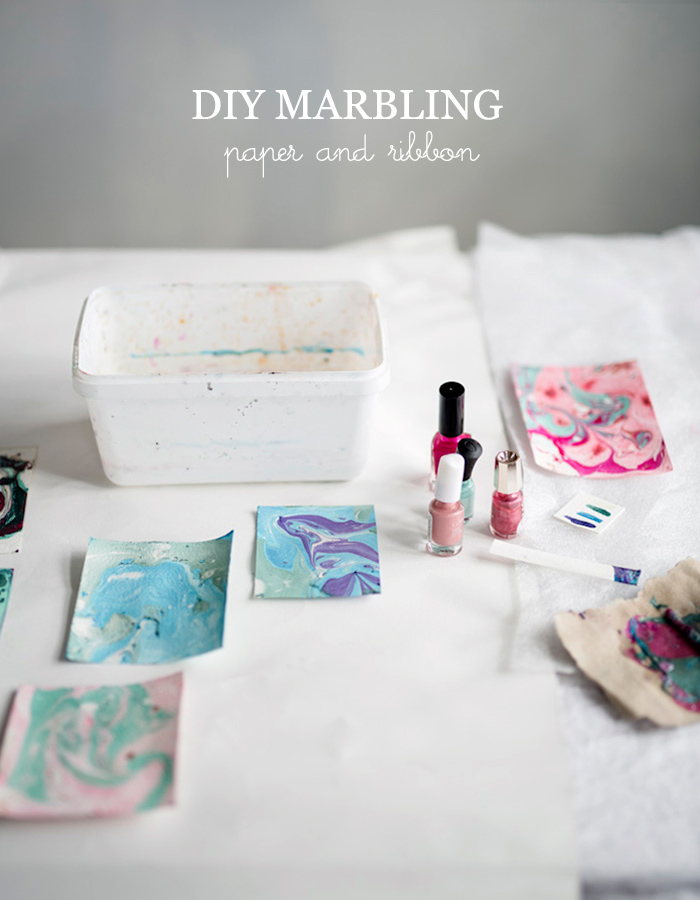 DIY marbling photo by Kreetta Järvenpää www.gretchengretchen.com
