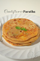 Cauliflower Stuffed Paratha