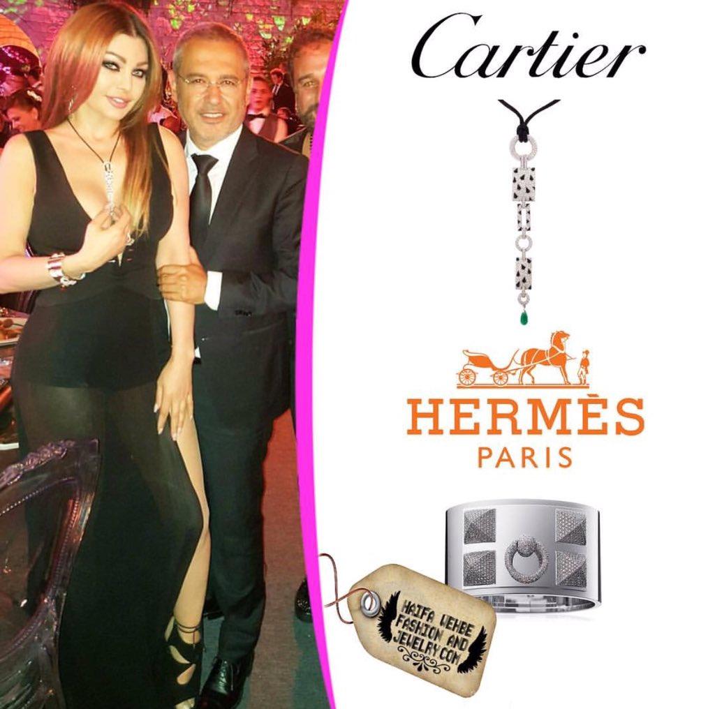 Haifa wehbe fashion and jewelry  September 2016 dc71979adfcf3