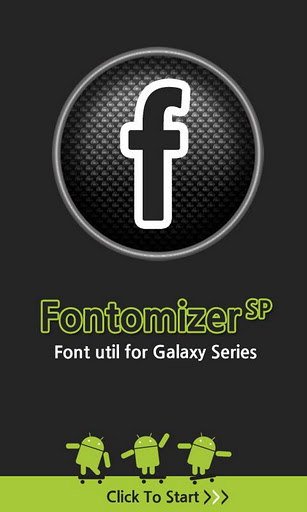 Free APK Android Apps: Font for Galaxy SP v0 4 - Download APK