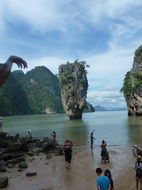 James Bond Island at the tip of my finger inward Phuket  Things to create inward Phuket