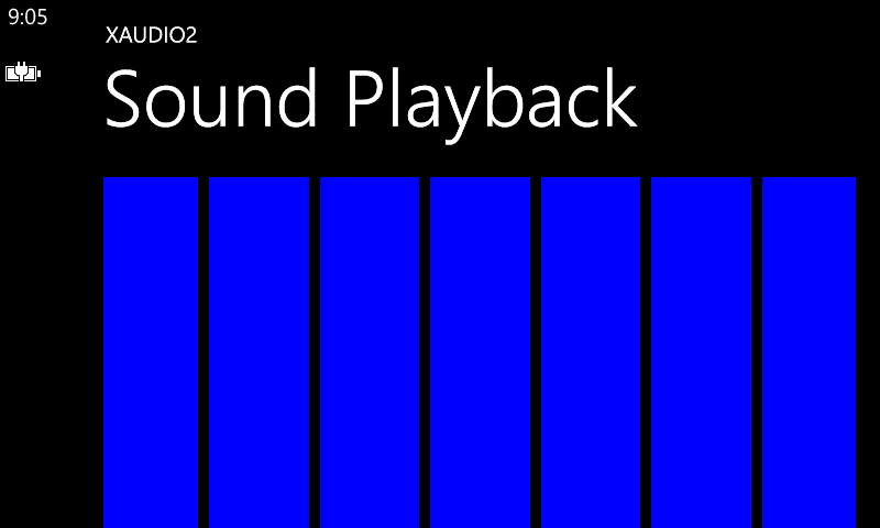 Mobile Development: C# XAudio2 Sound Playback for Windows Phone