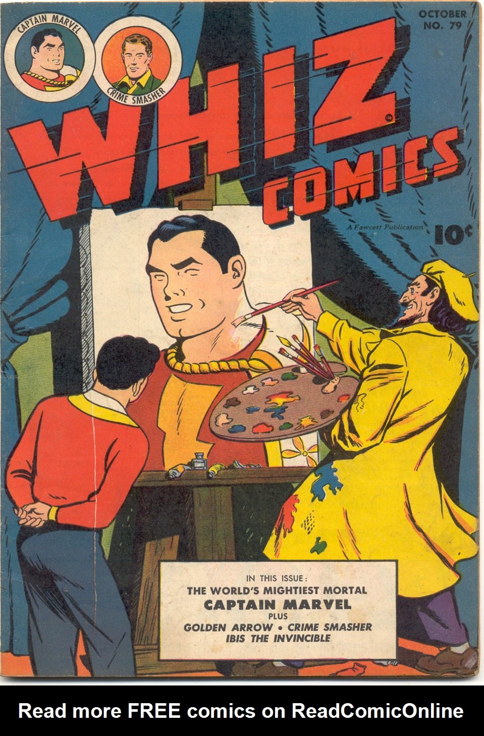 WHIZ Comics issue 79 - Page 1