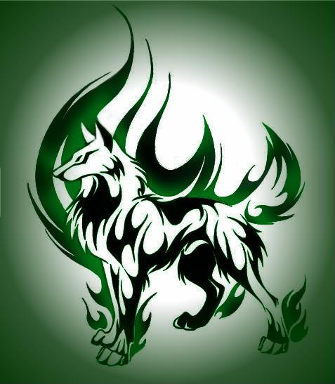 tattoo turok: Cool Fire Tattoo Design