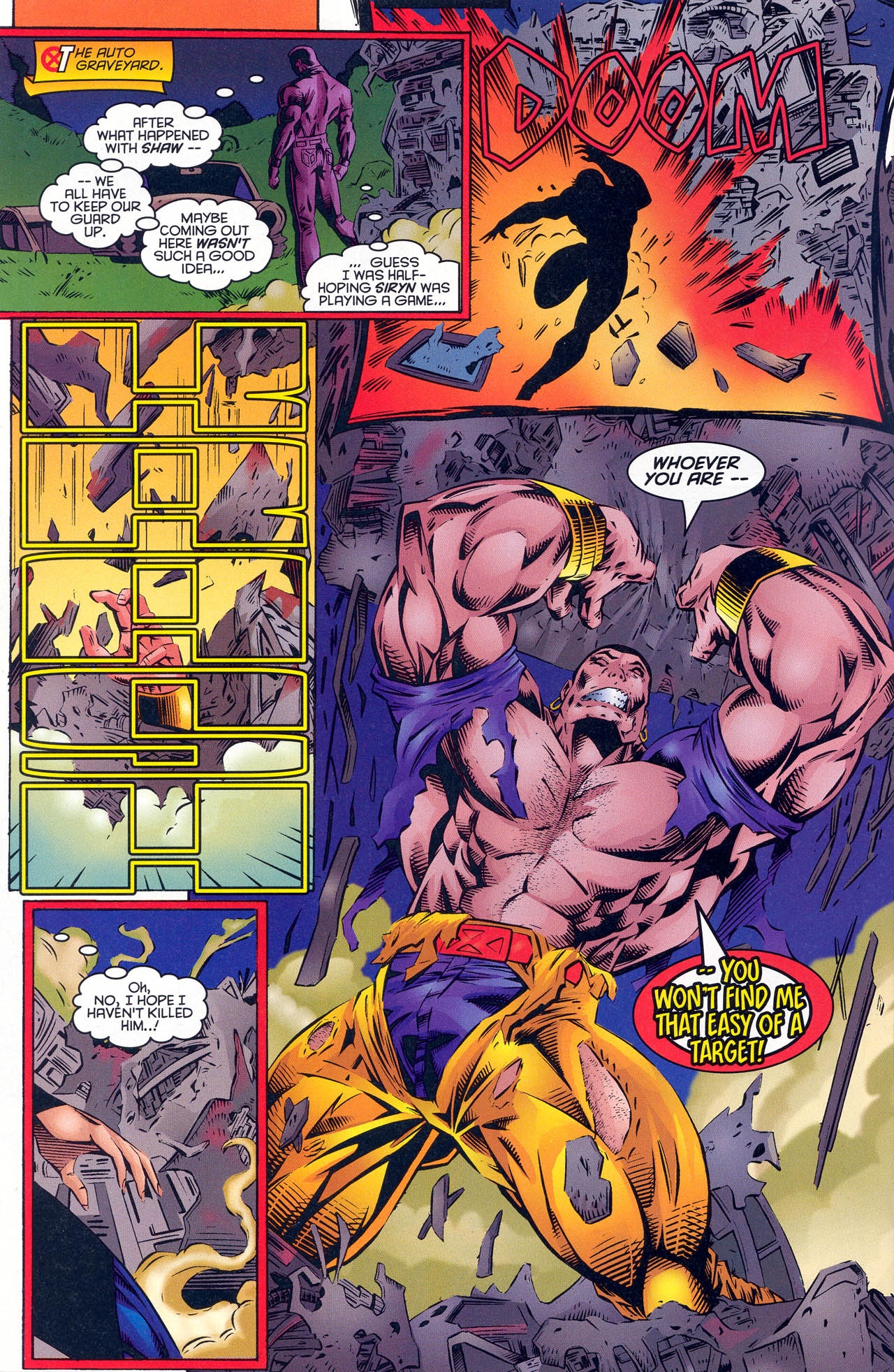 Read online X-Force (1991) comic -  Issue #51 - 20