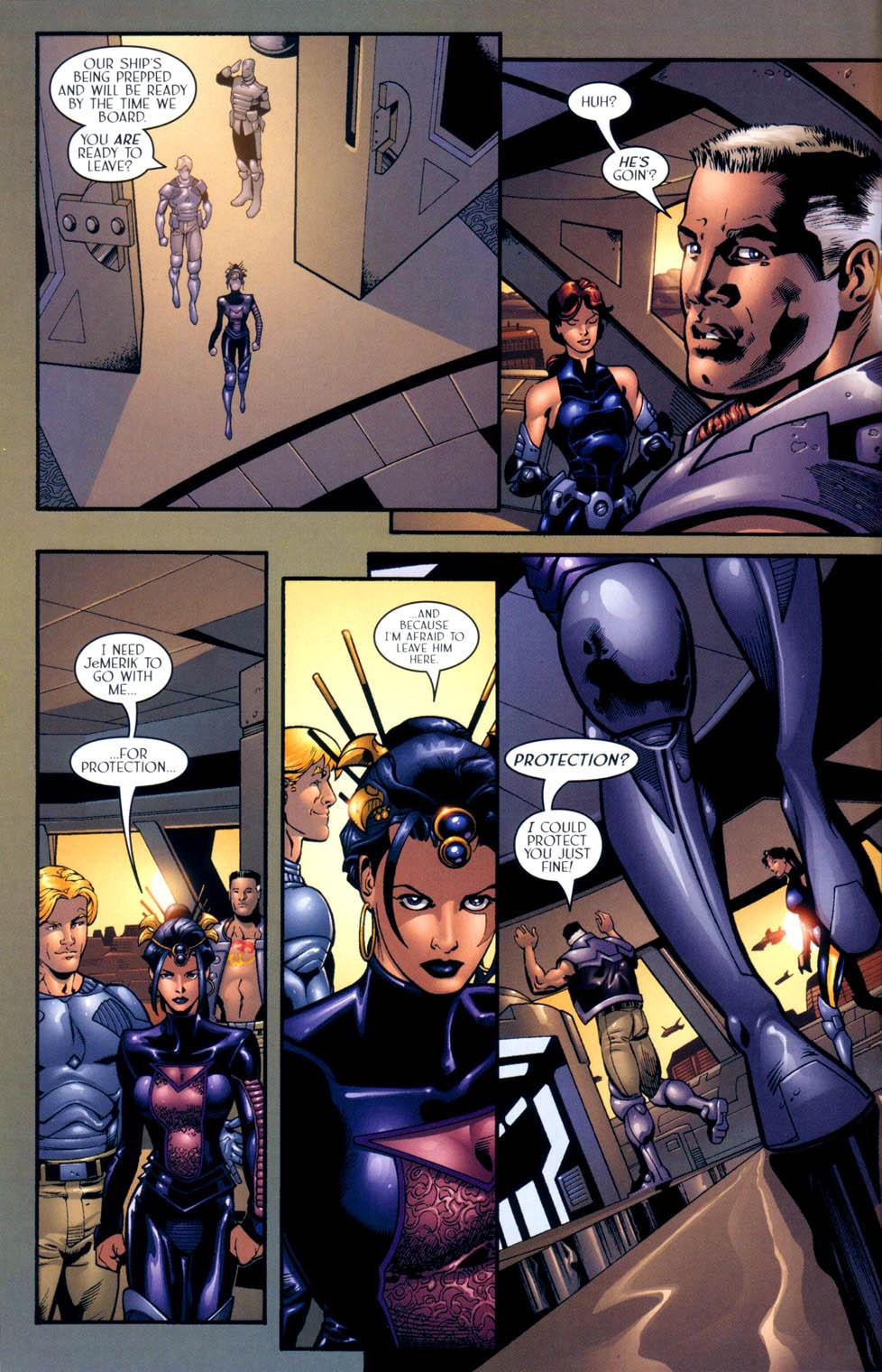 Read online Sigil (2000) comic -  Issue #10 - 13