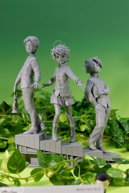 Norman, Emma y Ray de Yakusoku no Neverland