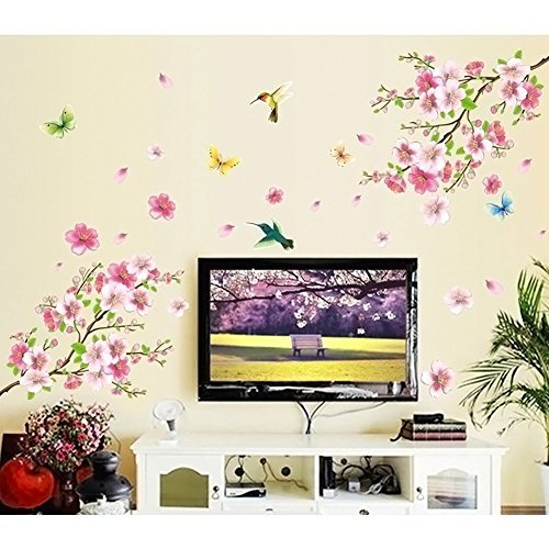 Live Gallery Pink Cherry Blossom Tree
