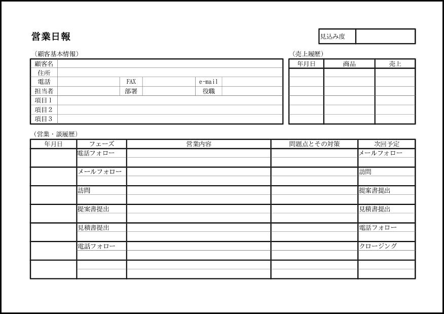 営業日報 017