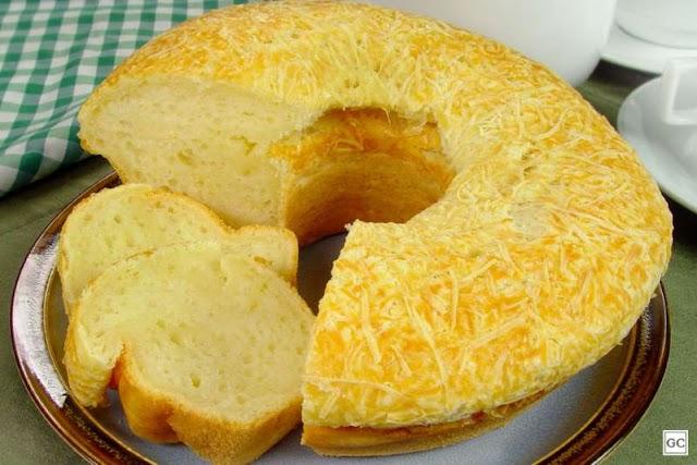 Confira uma receita deliciosa de 'Pão de Queijo Gigante'