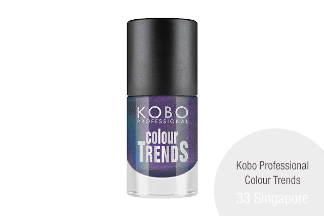 KOBO PROFESSIONAL COLOUR TRENDS NAIL POLISH 33 Singapore