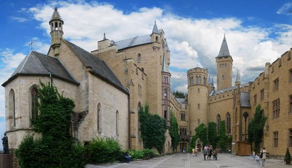 Patio Central (Castillo Hohenzollern, Alemania)