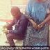 Photos/video: Man donates money to female trader who
