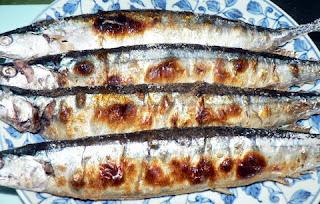 酒の肴 焼き魚 さんま塩焼き