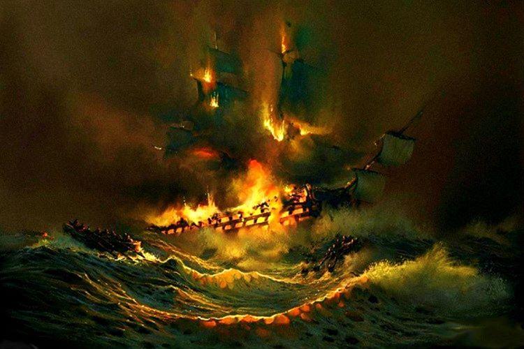 Mary Celeste'in patlama ihtimaline karşın terk edildiği bahsi geçen diğer iddialar arasındadır.