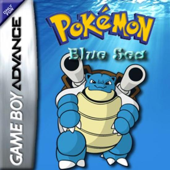 Pokemon Blue Sea