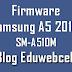 Firmware Samsung SM-A510M A5 2016